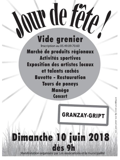 Flyer marche granzay